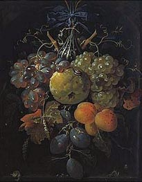 Abraham Mignon | Fruits, undated | Giclée Canvas Print
