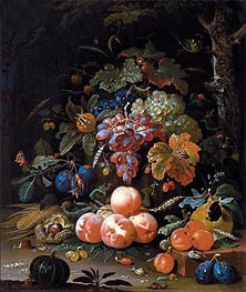 Abraham Mignon | Still Life with Fruits, undated | Giclée Canvas Print