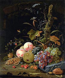 Abraham Mignon | Still Life of a Forest Floor, undated | Giclée Canvas Print