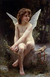 Bouguereau | Love on the Look Out | Giclée Canvas Print