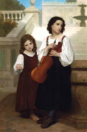 Bouguereau | Far from Home | Giclée Canvas Print