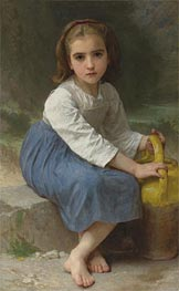 Bouguereau | Girl with Pitcher | Giclée Canvas Print