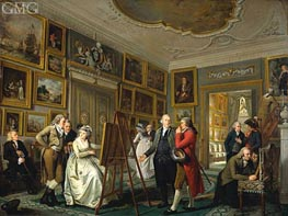 Adriaen de Lelie | The Art Gallery of Jan Gildemeester, c.1794/95 | Giclée Canvas Print