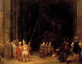 Aert de Gelder | The Forecourt of the Temple, 1679 | Giclée Canvas Print