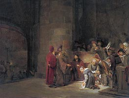 Aert de Gelder | Christ and the Woman taken in Adultery, 1683 | Giclée Canvas Print