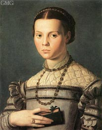 Bronzino | Portrait of a Young Girl | Giclée Canvas Print
