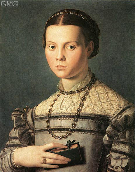 Portrait of a Young Girl, c.1541/45 | Bronzino | Giclée Canvas Print