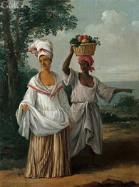 Agostino Brunias | Two Caribbean Women Returning from the Market | Giclée Canvas Print