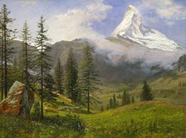 Bierstadt | The Matterhorn | Giclée Canvas Print