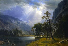 Bierstadt | Yosemite Valley | Giclée Canvas Print