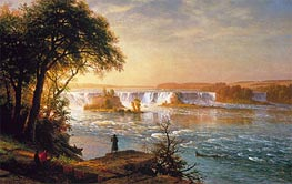Bierstadt | The Falls of St. Anthony, c.1880/87 | Giclée Canvas Print
