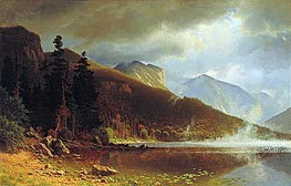 Bierstadt | Echo Lake, Franconia Mountains, New Hampshire, 1861 | Giclée Canvas Print