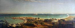 Bierstadt | Bombardment of Fort Sumter, 1861 | Giclée Canvas Print