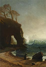 Bierstadt | Point Lobos, California, undated | Giclée Canvas Print