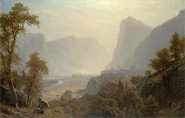 Bierstadt | The Hetch-Hetchy Valley, California, c.1874/80 | Giclée Canvas Print