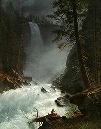 Bierstadt | A Stream in the Rocky Mountains, 1882 | Giclée Canvas Print