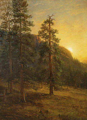 California Redwoods, 1872 | Bierstadt | Giclée Canvas Print