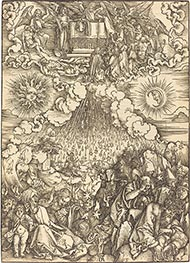 Durer | The Opening of the Fifth and Sixth Seals, c.1496/98 | Giclée Paper Print