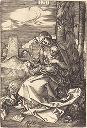 Durer | The Virgin and Child with the Pear, 1511 | Giclée Paper Print