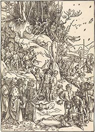 Durer | The Martyrdom of the Ten Thousand, c.1496/97 | Giclée Paper Print