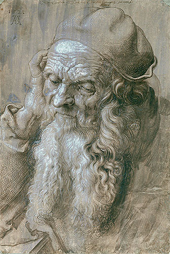 Portrait of an Old Man (Study for a Saint), 1521 | Durer | Giclée Paper Print