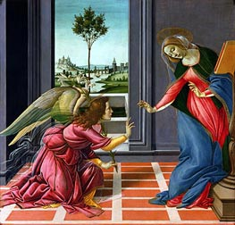 Botticelli | The Cestello Annunciation | Giclée Canvas Print