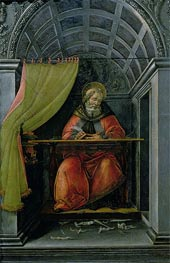 Botticelli   Saint Augustine in his Cell   Giclée Canvas Print