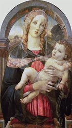 Botticelli | The Virgin and Child | Giclée Canvas Print