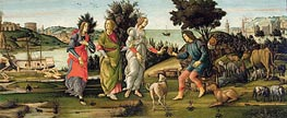 Botticelli | The Judgement of Paris, Undated | Giclée Canvas Print