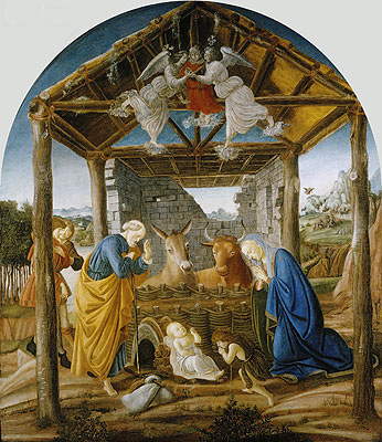 The Nativity, c.1475 | Botticelli | Painting Reproduction