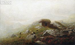 Alexander Wyant | Misty Morning Near the Lakes of Killarney | Giclée Canvas Print