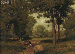 Alexander Wyant   Brook in the Woods, undated   Giclée Canvas Print