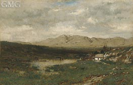 Alexander Wyant | View in County Kerry, c.1875 | Giclée Canvas Print