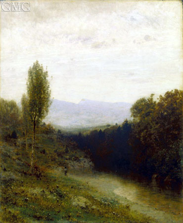 A View of Whiteface Mountain, c.1883 | Alexander Wyant | Giclée Canvas Print