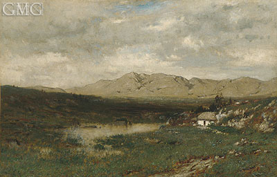 View in County Kerry, c.1875 | Alexander Wyant | Giclée Canvas Print