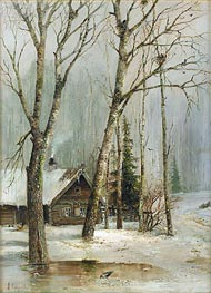 Alexey Savrasov | Cottage in the Woods | Giclée Canvas Print