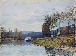 Alfred Sisley | The Seine at Bougival | Giclée Canvas Print