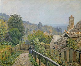 Alfred Sisley | Louveciennes or, The Heights at Marly | Giclée Canvas Print