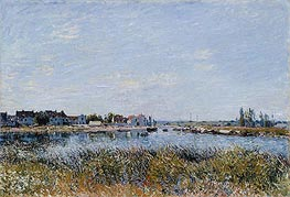 Alfred Sisley | Saint-Mammès: Morning | Giclée Canvas Print