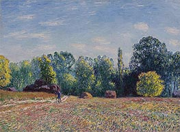 Alfred Sisley | Edge of Forest, 1895 | Giclée Canvas Print