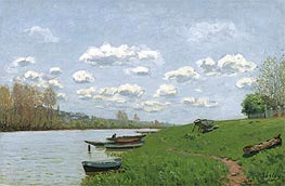 Alfred Sisley | The Seine at Argenteuil, c.1870 | Giclée Canvas Print