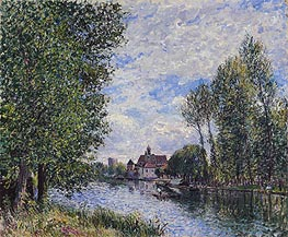 Alfred Sisley | Summer at Moret, 1888 | Giclée Canvas Print
