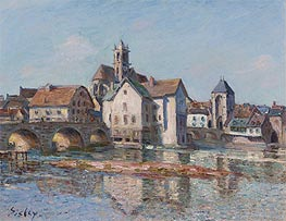 Alfred Sisley | The Bridge at Moret, 1892 | Giclée Canvas Print