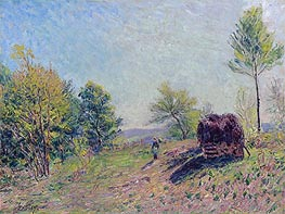 Alfred Sisley | Woods in Spring | Giclée Canvas Print