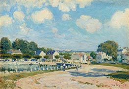 Alfred Sisley | Watering Place at Marly, 1875 | Giclée Canvas Print