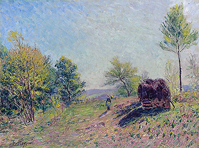 Woods in Spring, 1886 | Alfred Sisley | Giclée Canvas Print