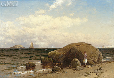 Looking out to Sea, c.1885 | Alfred Thompson Bricher | Giclée Canvas Print
