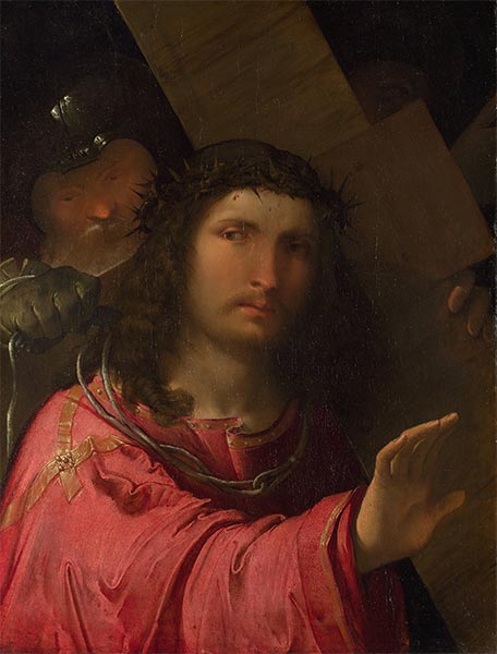 Christ Carrying the Cross, 1515 | Altobello Melone | Painting Reproduction