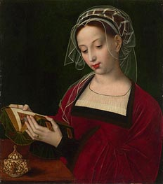 Ambrosius Benson | The Magdalen Reading, c.1525 | Giclée Canvas Print