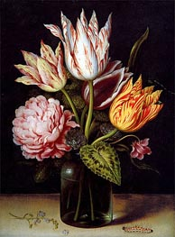 Ambrosius Bosschaert | A Still Life with a Bouquet of Tulips | Giclée Canvas Print